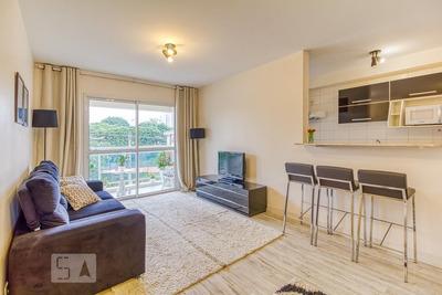 Apartamento No 2º Andar Mobiliado Com 2 Dormitórios E 1 Garagem - Id: 892898786 - 198786