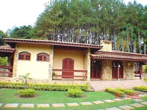 Chácara Com 5 Dormitórios À Venda, 85240 M² Por R$ 2.300.000,00 - Boa Vista - Atibaia/sp - Ch0339