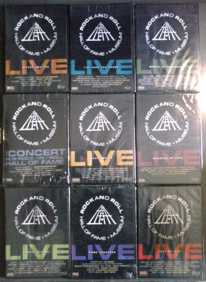 Rock And Roll Hall Of Fame + Museum Coleccion 9 Dvd Nuevos