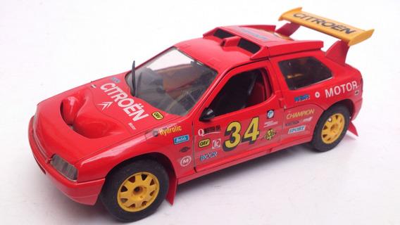 1:18 Miniatura Carrinho Citroen Zx Rallye Raid Majorette