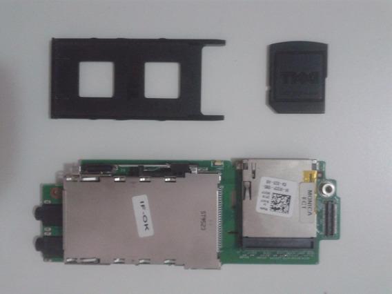 Placa Áudio E Leitor Cartão Notebook Dell Inspiron 1440