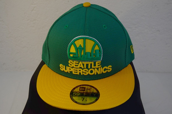 Gorra Seattle Supersonics New Era 59fifty 7 1/8