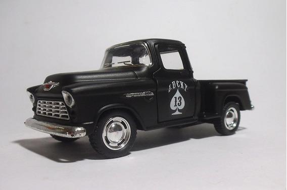 1955 Chevy Stepside Lucky 13 - 1/32 - Kinsmart - Custom