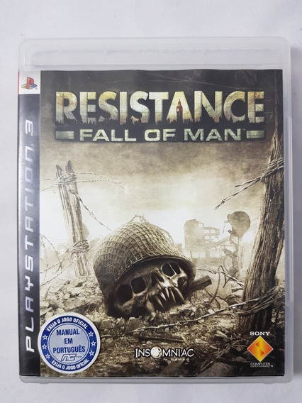 Resistance Fall Of Man Ps3 Mídia Física Pronta Entrega