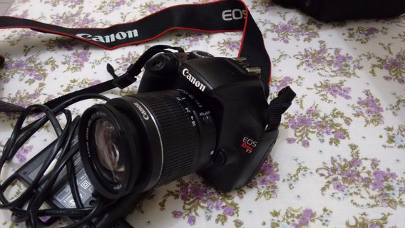Câmera Profissional Canon Eos Rebel T3+lente 18-55mm