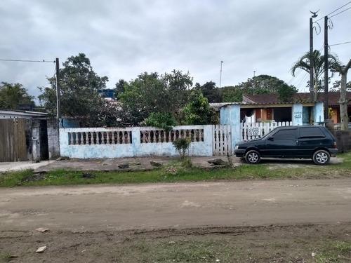 Casa Em Itanhaém R$ 140 Mil Com Edicula