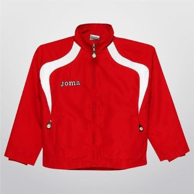 Jaqueta Esportiva Joma Champion Infantil (tamanho 8) Vermelha