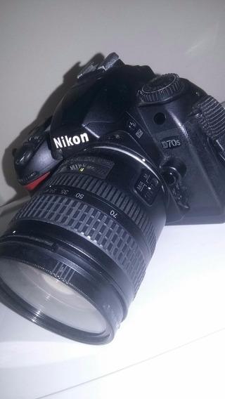 Nikon D70s Com Flash
