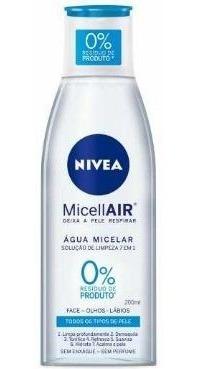 Água Micelar Nivea Micellair Solução De Limpeza 7 Em 1