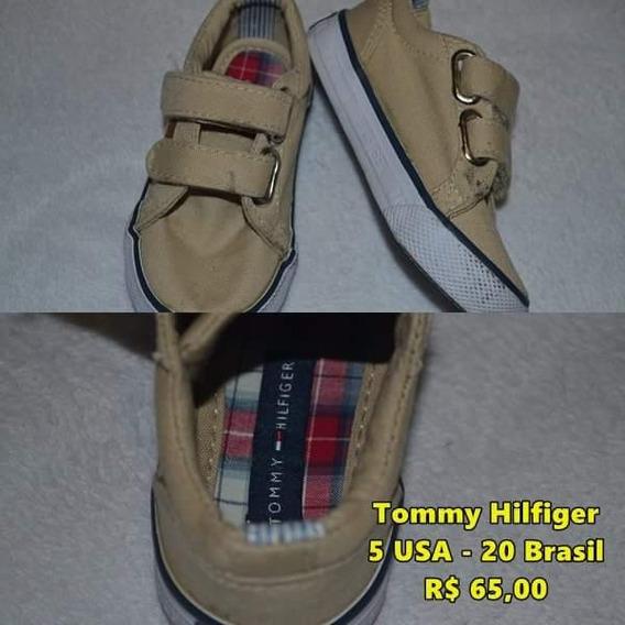 Sapatênis Tommy Hilfiger Menino Bege - Tamanho 20