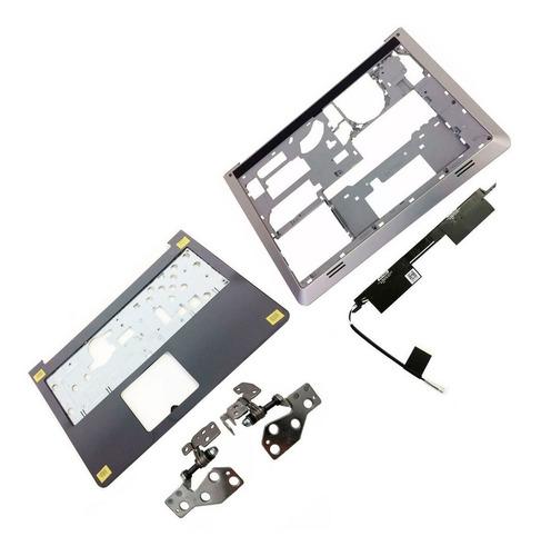 Carcaça Base + Palmrest + Dobradiça + Antena Dell 5547 5548