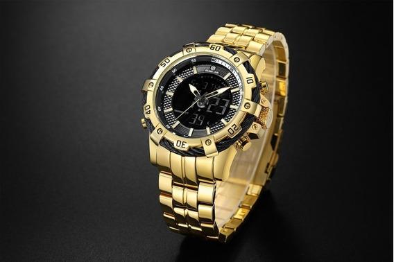 Relógio Masculino A Prova De Água - Luxo
