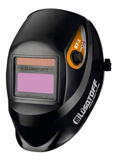 Máscara Fotosensible Lusqtoff St-1 Para Soldar Garantía Pce