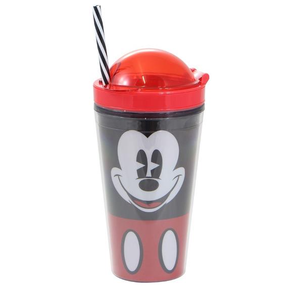 Copo Canudo 2 Em 1 Mickey Mouse - Oficial Disney
