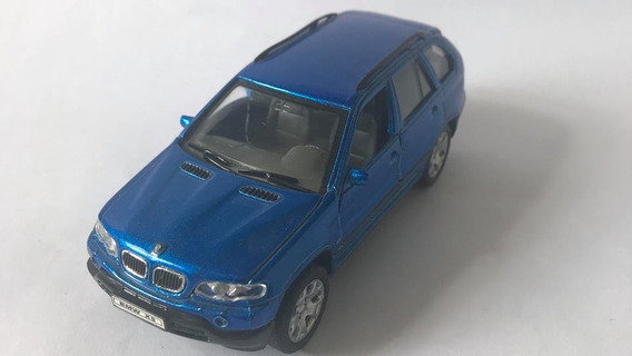 Bmw X5 - Escala 1/33 - Azul - Miniatura Colecionável