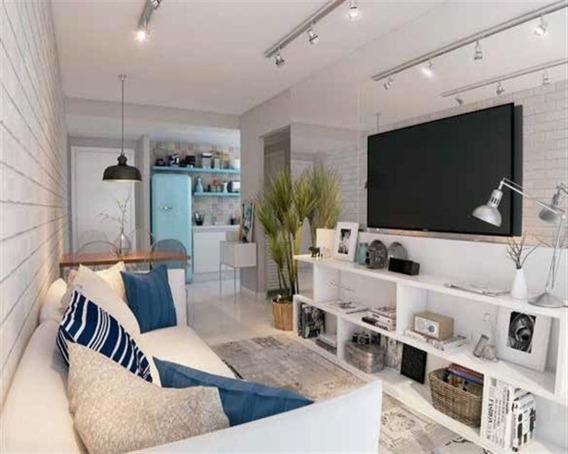 Apartamento A Venda No Bairro Centro Em Rio De Janeiro - Rj. 1 Banheiro, 1 Dormitório, 1 Cozinha, Sala De Estar, Sala De Tv. - 2087 - 2087 - 34340044