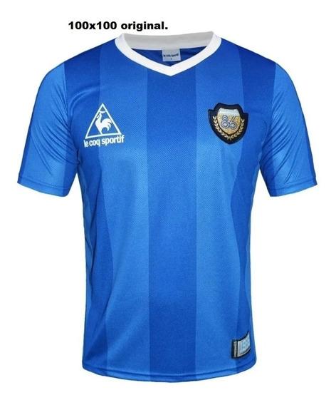 Camiseta Argentina 86 | Le Coq Sportif 30 Años Maradona 10