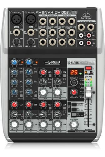 Behringer Xenyx Qx1002usb Consola Mixer Mezcladora