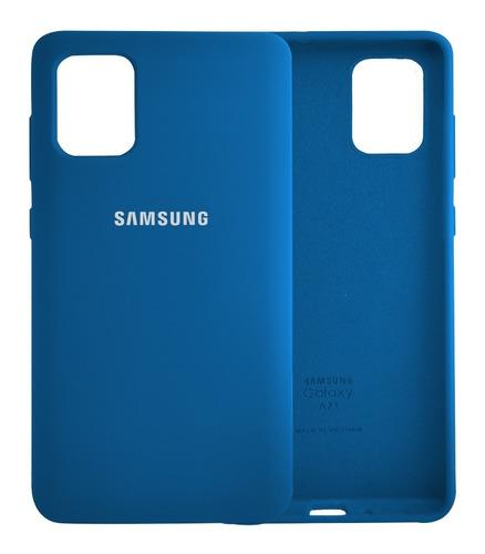 Estuche Protector Silicone  Case Samsung A 51 / A71