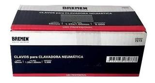 Clavos 50 Mm Para Clavadora Neumatica Bremen® 7264