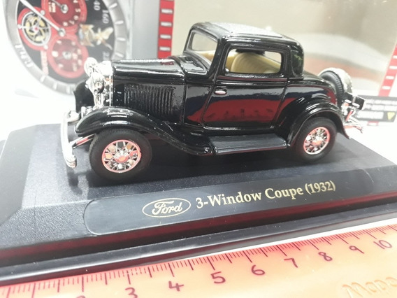 Road Signature 1/43 Ford A Coupe 1932 Negro. Hobby-centro