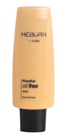Heburn Profesional Base Maquillaje Oil Free Mate 124