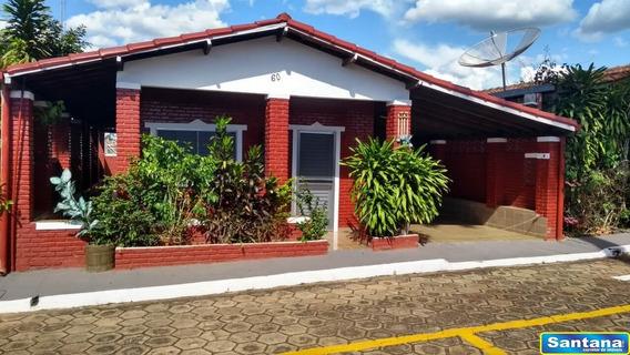04467 - Casa De Condominio 3 Dorms. (1 Suíte), Mansoes Das Aguas Quentes - Caldas Novas/go - 4467