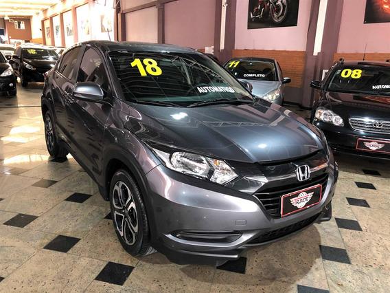 Honda Hr-v 1.8 16v Flex Lx 4p Automático 2018