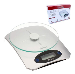 Balança De Cozinha Digital Inox Até 5 Kg Baci-004 Hauskraft