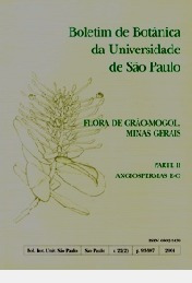 Flora De Grão-mogol / Minas Gerais / Par Boletim De Botânic