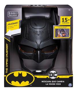 Batman Dc Mascara Cambia La Voz Visor Sonidos 67808 Edu Full