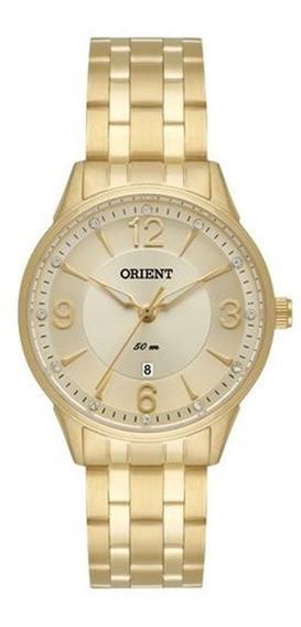 Relógio Orient Analógico Feminino Dourado Fgss1119c2kx