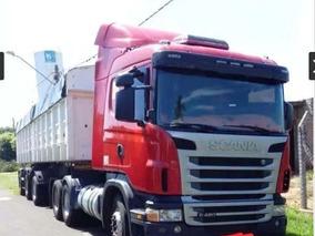 Scania G 420 6x4 C/ Bi-caçamba Ano 2011
