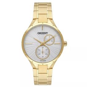 Relógio Orient Feminino Fgssm066 S1kx Multifunção Dourado