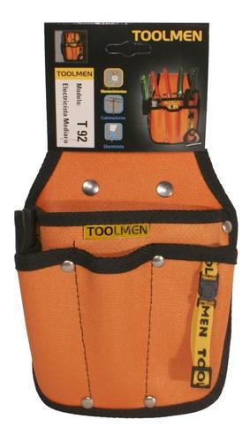 Cinturón Porta Herramientas Toolmen T92 Electricista Mediano