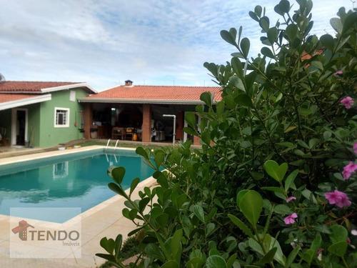 Imagem 1 de 19 de Chácara Com 3 Dormitórios À Venda, 1000 M² Por R$ 980.000,00 - Altos Da Bela Vista - Indaiatuba/sp - Ch0008