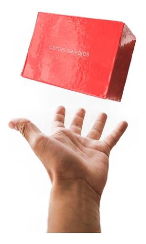 Imagen 1 de 7 de Juego De Mesa Cartas Salvajes Rojo Fight Previa Risas Amigos