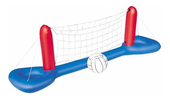 Set De Voleibol Inflable Para Piscina Bestway
