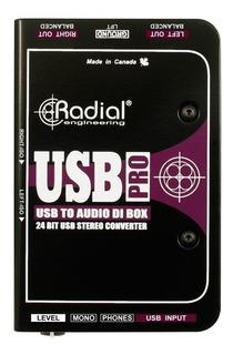 Radial Usb Pro