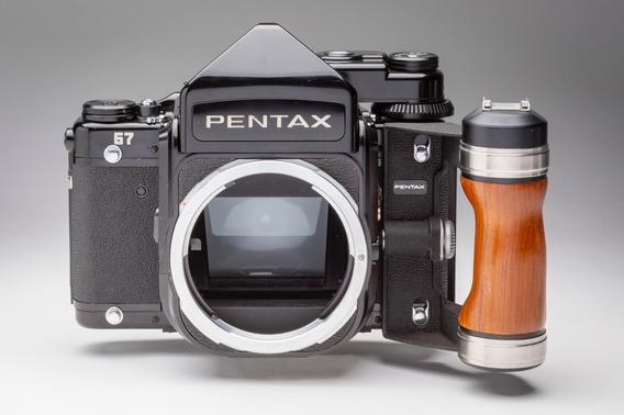 Câmera Pentax 6x7 Médio Formato Analógica Em Ótimo Estado