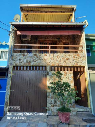 Imagem 1 de 15 de Ampla Casa Triplex Totalmente Reformada Com 3 Quartos ( 1 Suíte ) Para Venda No Bairro Vila Nova - Nova Iguaçu. - Sica30020