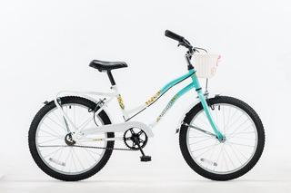 Bicicleta Futura R.20 Dama Full Canasto-portaequipaje M.5214