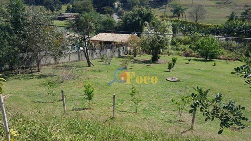 Chácara Com 3 Dormitórios À Venda, 2613 M² Por R$ 450,000,00 - Bairro Do Pinhal - Itatiba/sp - Ch0163