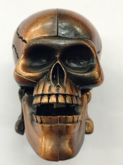 Calavera Cráneo Colección Miniatura Metal Sacapuntas Incorp