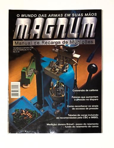 Imagem 1 de 2 de Revista Magnum Edição Especial 44 Manual De Recarga Defeitos