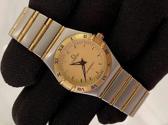 Omega Constellation Aço / Ouro Feminino , Promoção!!!