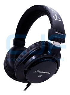 Auricular Profesional Dj Studiomaster H2 Excel. Calidad Cjf