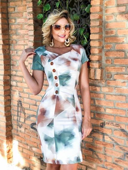 Vestido Tubinho Tubinho Alfaiataria - Foto Real Do Produto