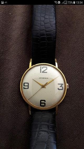 Relógio De Ouro Juvenia Clássico Suíço