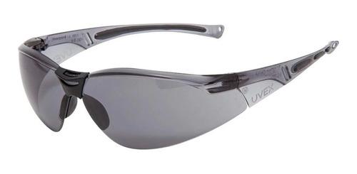 Óculos Proteção Esportivo Uvex A800 Antiembaçante Cinza